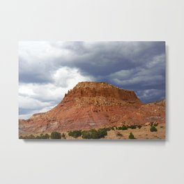 Buttes of New Mexico - On the Road to Santa Fe, No. 4 Metal Print