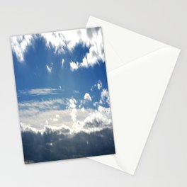 Windy Day Sky Stationery Cards