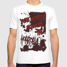 HorrorVille 13 B-movie flyer. MEDIUM White Mens Fitted Tee