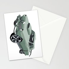Studebaker in Green Stationery Cards