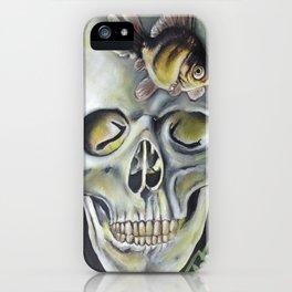 aquatic horror iPhone Case
