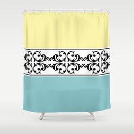 Damask decoration Shower Curtain