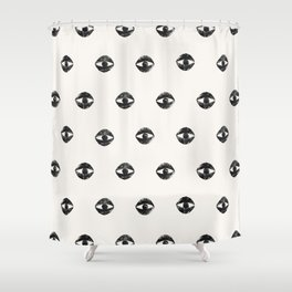 Eye Me Oh My Shower Curtain