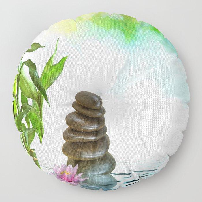 Zen Morning Floor Pillow