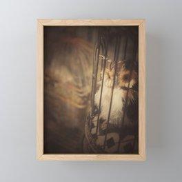 Caged Bird Framed Mini Art Print