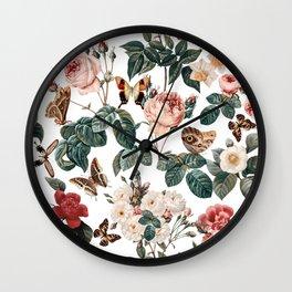 Botanical Forest Wall Clock