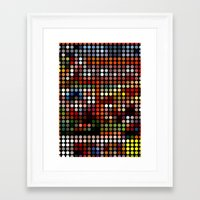 comic Framed Art Prints featuring Comic by Triplea