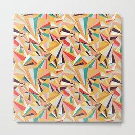 geometric fraction Metal Print