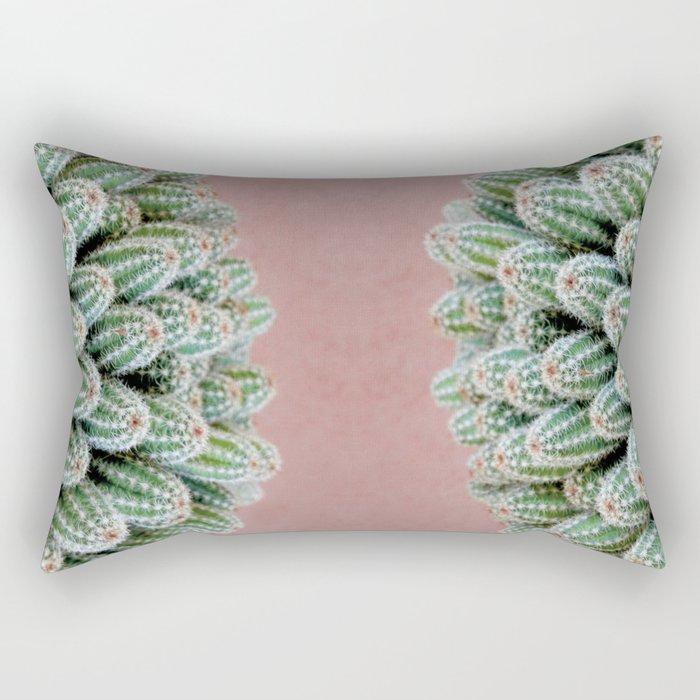 Double Cactus Rectangular Pillow
