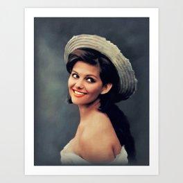 Claudia Cardinale, Actress Art Print