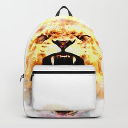 perfect african lioness Backpack