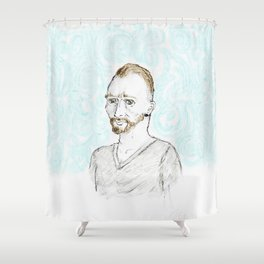 Just your average Gogh Shower Curtain