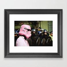 Empire vs. Empire Framed Art Print