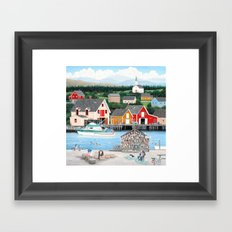 Fisherman's Cove Framed Art Print