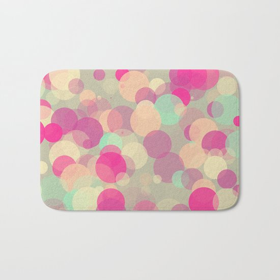 Colorful Bubbles 2 Bath Mat