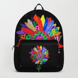 Mandala flower Veta Backpack