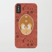 megaman iPhone & iPod Cases featuring Megaman by Kuki