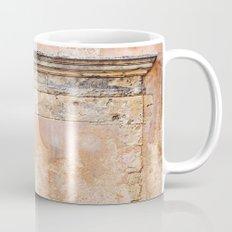 Ancient Marble Doorframe and Plaster, Crete, Greece Mug