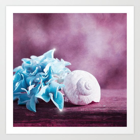 LITTLE TREASURES Art Print