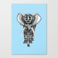 PETITE ELEPHANT. Canvas Print