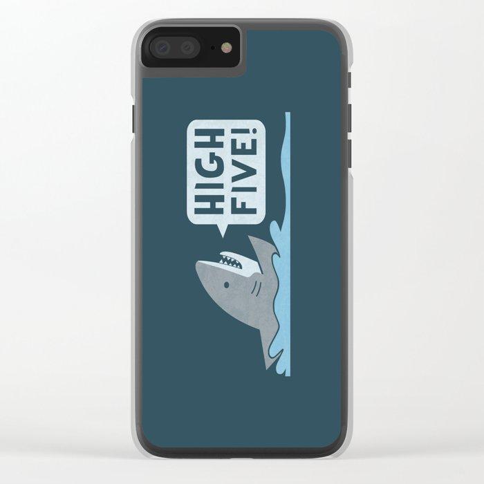 High Five Clear iPhone Case