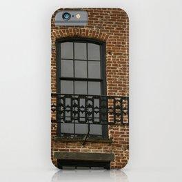 Savannah Warehouse Window iPhone Case