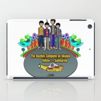 yellow submarine iPad Cases featuring Yellow Submarine by The Beatles Complete On Ukulele