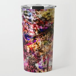 Abstract Blam Travel Mug