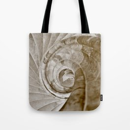 Sand stone spiral staircase 13 Tote Bag
