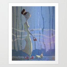 4 am  Art Print