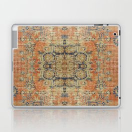 Vintage Woven Coral and Blue Kilim Laptop & iPad Skin
