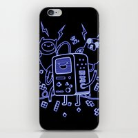bmo iPhone & iPod Skins featuring BMO by Daniel Delgado