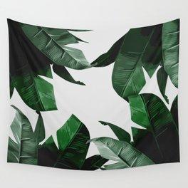 Banana Palm Leaves Wall Tapestry