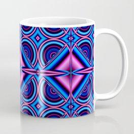 Pattern blue pink Coffee Mug
