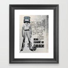 Beau comme un Camion Framed Art Print