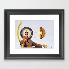 Faith or Reason - A: Gnosis Framed Art Print