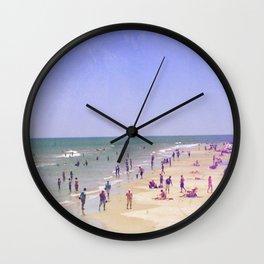 Beach Love, Beach Bliss Wall Clock