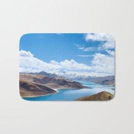 Tibet holy lake Bath Mat