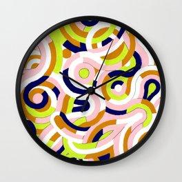 Seigaiha Series - Congeniality Wall Clock