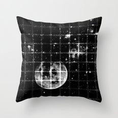 Space texture Throw Pillow
