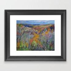 Appalachian Trail Framed Art Print