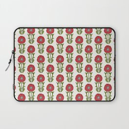Dot Floral in Red Laptop Sleeve