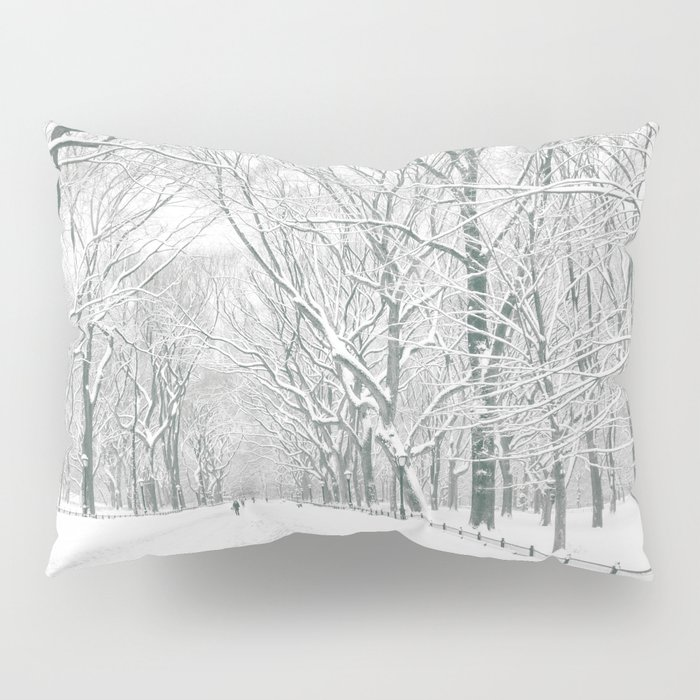 New York City Snow Pillow Sham