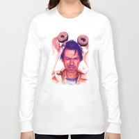 actor Long Sleeve T-shirts featuring Steve Buscemi and donuts by Thubakabra