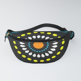 African Diamond (Turquoise) - by Kara Peters Fanny Pack