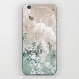 Frothy Fourth Beach iPhone Skin