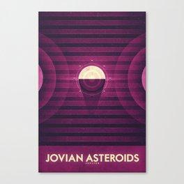 Jupiter - Jovian Asteroids  Canvas Print