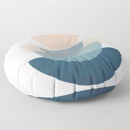 Abstract Minimal Shapes 31 Floor Pillow