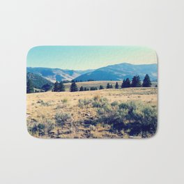 The High Plains of Lamar Valley: Yellowstone National Park Bath Mat