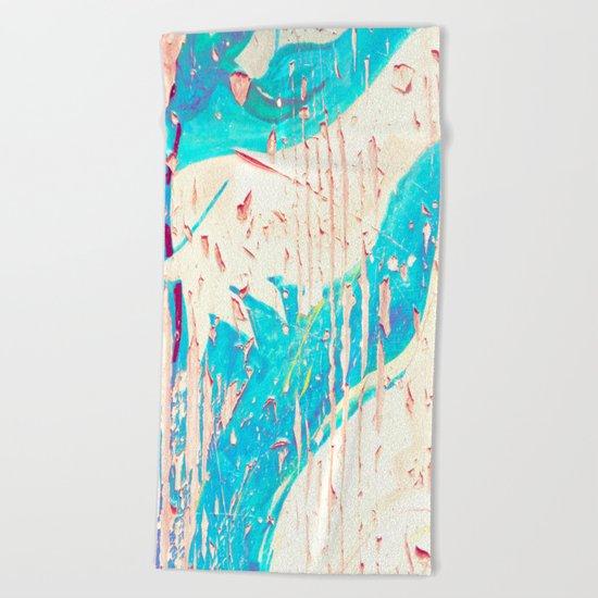 Old Wood 07 Beach Towel